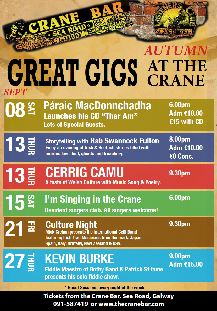 The Crane Bar – Galway's best traditional music pub